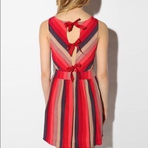 Urban Outfitters tie-back dress, size 0.